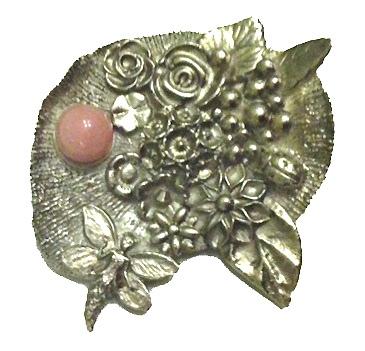 art clay silver pendant