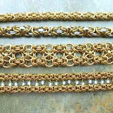 Example of a basic chain maille